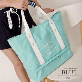 【ブルー】キャリーオンバッグ