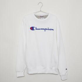 Sサイズ [Champion] メンズ トレーナー ホワイト...