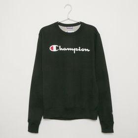Lサイズ [Champion] メンズ トレーナー ブラック...
