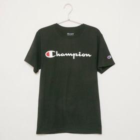 Mサイズ [Champion] メンズ Tシャツ ブラック ...