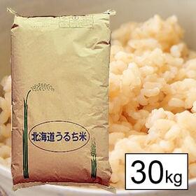 【30kg】 令和元年産北海道産ななつぼし 1等玄米30kg...
