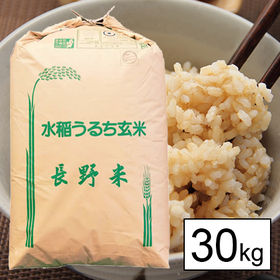 【30kg】 令和元年産長野県産 五百川 1等 玄米30kg...