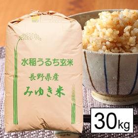 【30kg】 令和元年産 幻の米 長野県飯山産コシヒカリ 1...