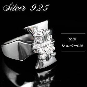 シルバー925 【クロス(十字架) メンズ ブランド リング...