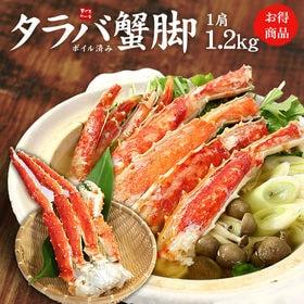 【約1.2kg】特大ボイルたらば蟹脚![[ボイルタラバ蟹1....