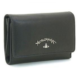 【色:BLACK】ヴィヴィアンウエストウッド 二つ折り財布 ...