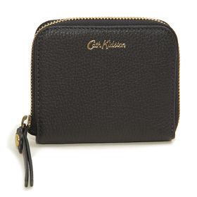 [CathKidston]折り財布 ブラック MINI CO...