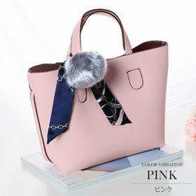 【ピンク】3wayショルダーハンドバッグ【vl-5137】O...