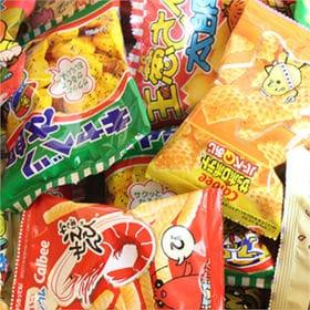 【9種・計44コ】カルビーミニスナック&人気の菓道太郎スナッ...