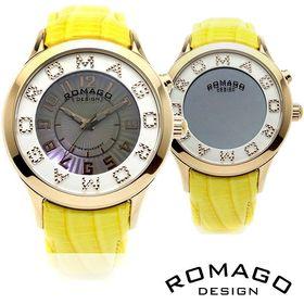 ロマゴデザイン 腕時計 RM067-0162ST-YE ミラ...