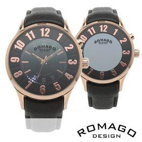 ロマゴデザイン 腕時計 RM068-0053ST-RG ミラ...