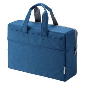 【ブルー】テレワークモバイルバッグ サンワサプライ