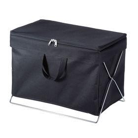 折りたたみ式蓋付き手荷物収納ボックス サンワサプライ