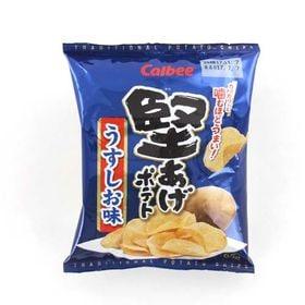 【65G×24個】堅あげポテト うすしお味