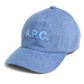 [A.P.C.]キャップ  EDEN CASQUETTE(ブルー) | いつものコーデにプラスするだけでこなれ感を演出する優秀アイテム!