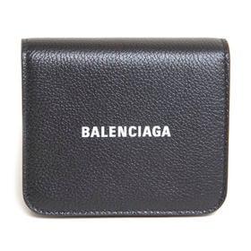 {BALENCIAGA]折り財布  CASH MINI WALLET | 柔らかいカーフスキンとアクセントを添えるブランドロゴが魅力のアイテム!
