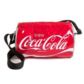 [LeSportsac×CocaCola]ショルダーバッグ EVA CROSSBODY DUFFLE | 誰もが知るアイコニックなブランド「コカ・コーラ」との限定コラボレーションアイテム!