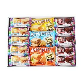 【5種・計23コ】グリコ からだにやさしい栄養機能菓子プチギ...