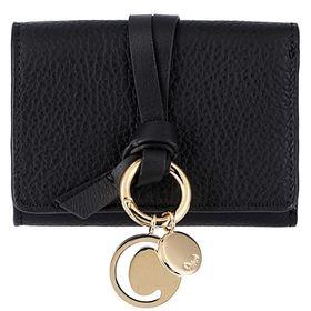 【色:BLACK】クロエ 折り畳み財布 CHC17AP946...
