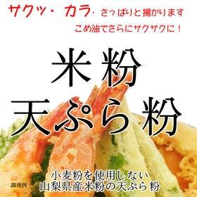 【900g】 グルテンフリー 米粉 天ぷら粉(山梨県米使用)...