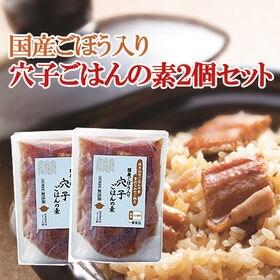 【2袋セット】国産ごぼう入り穴子ごはんの素 化学調味料無添加...