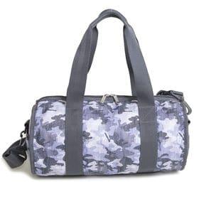 [LeSportsac]ボストンバッグ JAMIE DUFFLE BAG(グレー×ネイビー) | ころんとしたフォルムがとってもキュート!ジムバッグやスポーツバッグとしても◎