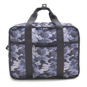 [LeSportsac]リュック MESSENGER BACKPACK(グレー×ネイビー) | ハンドバッグとしても使える2WAYタイプ!大容量の収納を叶えます♪