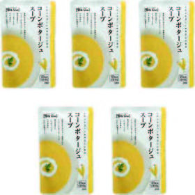 【160g×5個】コーンポタージュスープ