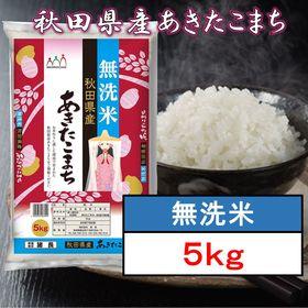 【5kg】無洗米 秋田県産 あきたこまち 令和2年産