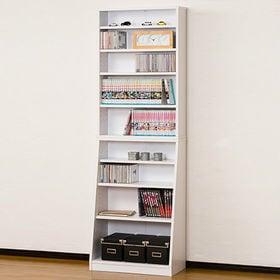 【ホワイト】SOHO書棚 W60