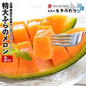 【予約受付】7/6~順次出荷【秀品 約2kg】北海道産 特大...