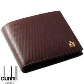 【ワイン】DUNHILL ダンヒル レザー  2つ折り財布