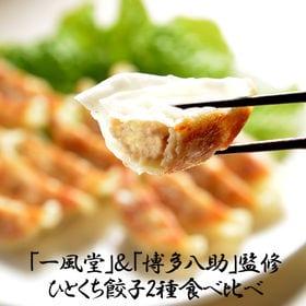 【2種/計150個】「一風堂」&「博多八助」監修 ひとくち餃子セット | 博多で愛されている名店のひとくち餃子食べ比べをご家庭でお楽しみいただけます。