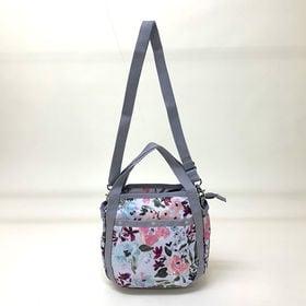 [LeSportsac}ハンドバッグ SMALL JENNI(ホワイト) | ころんと丸みを帯びたルックスが可愛らしい!ハンドバッグとしても◎