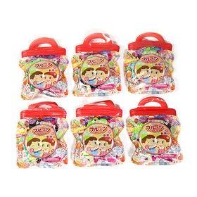 【6コ・フルーツキャンディ柄】ミニジップバッグ お菓子詰めセ...