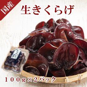 【200g】愛知県産・農薬不使用栽培★生きくらげ