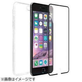 【ブラック】 iPhone 6 / 6s ガラスフィルム (...