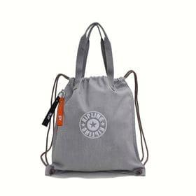 [Kipling]バックパック NEW HIPHURRAY (ライトグレー) | トートバッグとしてもお使いいただける2WAYタイプ!