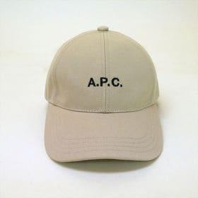 58サイズ [A.P.C.]キャップ ベージュ CHARLI...