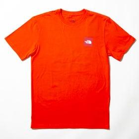 【Sサイズ/レッド】[THE NORTH FACE]M S/S RED BOX TEE | ユニセックスに着こなせる定番アイテム!バッグスタイルも◎