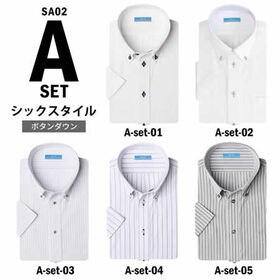 【Aset-シックスタイル/4L(47)】ワイシャツ半袖 5...