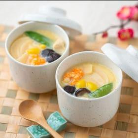 【計30袋】金沢料亭「金茶寮」茶椀蒸しの素 | 料亭の味をご家庭で!!7種の具材が入った茶碗蒸しの素です。『備蓄にも最適』