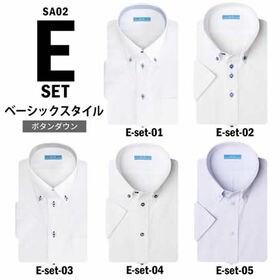 【Eset-ベーシックスタイル/3L(45)】ワイシャツ半袖...