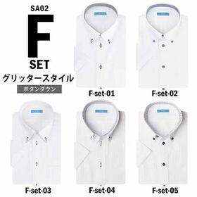 【Fset-グリッタースタイル/4L(47)】ワイシャツ半袖...