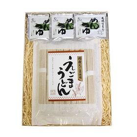 【1コ入り】森田製菓 えごまうどん 乾麺(めんつゆ3コ付) ...