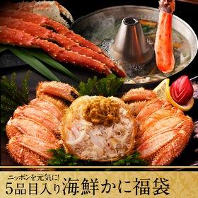 【3.2kg】ニッポンを元気に!5点入り海鮮ふっこう福袋 産...