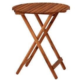 折りたたみ式の木製ガーデンテーブル