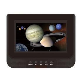 7インチ液晶/ダブルモニター ワンセグTV&DVDプレーヤー...