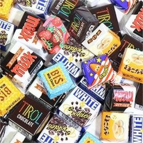 大量!みんな大好き!【150コ】大粒チロルチョコと【108コ...