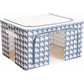 【シーケンス2個セット】moz 窓付き収納ボックス